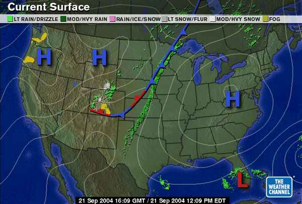 Today National Weather Map.Earth Systems Management Nice Weather Map